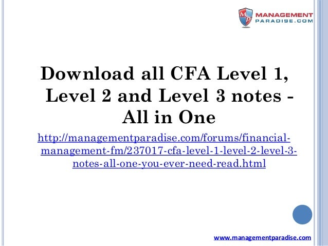 CFA Level 3: Complete Package