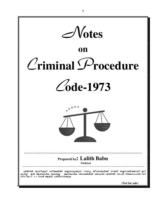 criminal procedure notes Front cover - comprehensive criminal procedure  comprehensive criminal  procedure, third edition, is a sophisticated cases-and-notes book that covers all .
