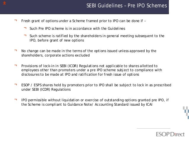 Interim guidance pre ipo investment