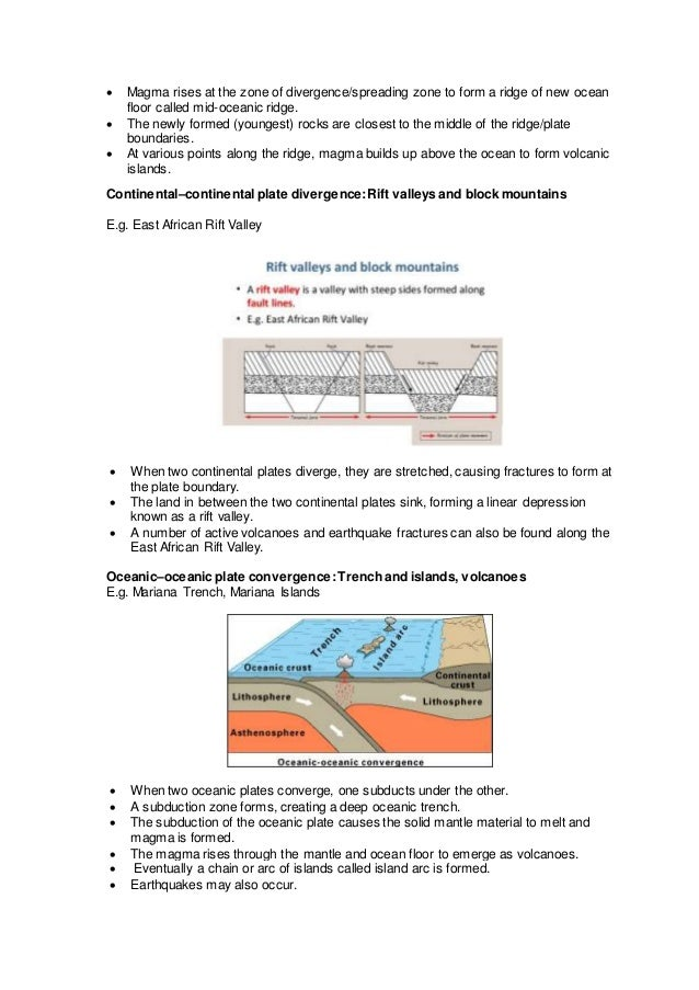 Notes On Living With Tectonic Hazards N Levels