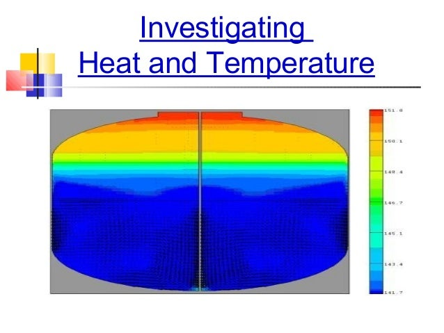 InvestigatingHeat and Temperature