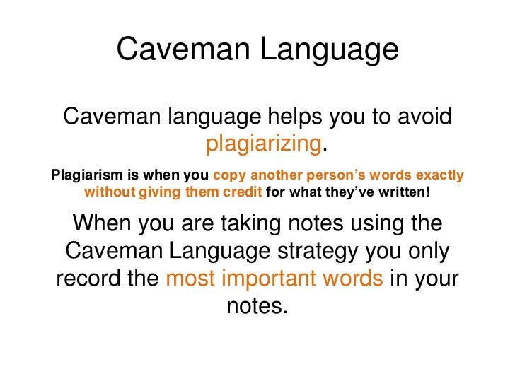 """Caveman Language<br />How do cavemen talk?<br />""""Me light fire.""""<br />""""Eat dinosaur.""""<br />""""Sleep in cave.""""<br />What do a..."""