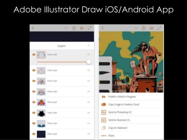 Adobe lllustrotor Drow WOS/ Android App