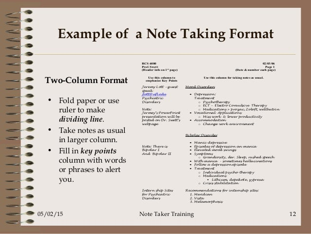 note-taking-powerpoint-fall-2014-12-638 Taking Format Examples on business letter, apa style essay, cover letter, long date, svg file, formal letter, graphic file, rich text,