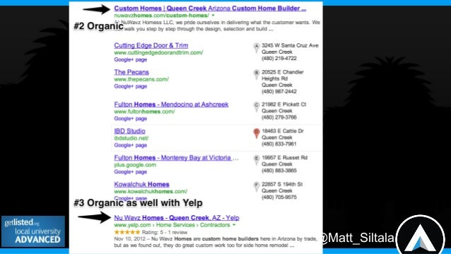 @Matt_SiltalaDo You Rank Well Locally?=Rank Well On These Services