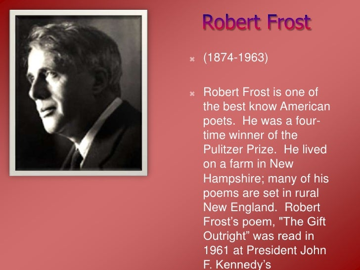 why did robert frost write a time to talk