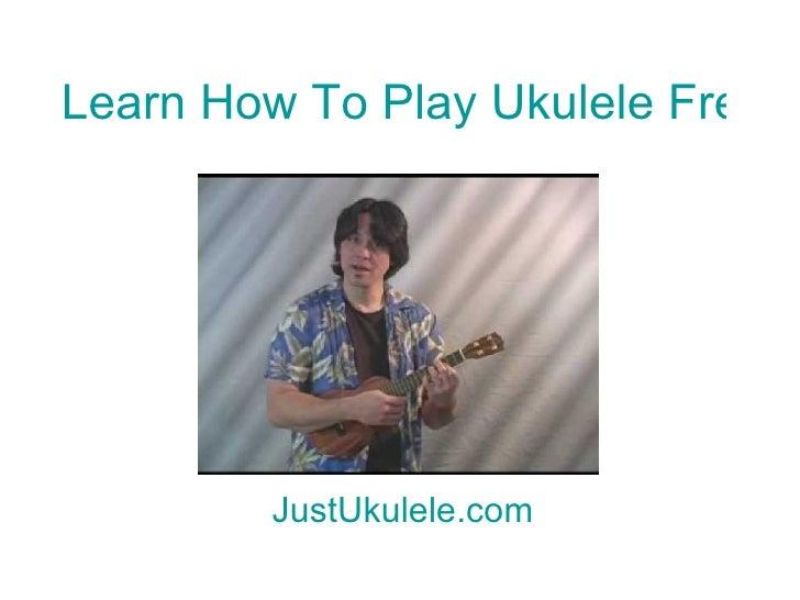 Nothing On You Ukulele Chords