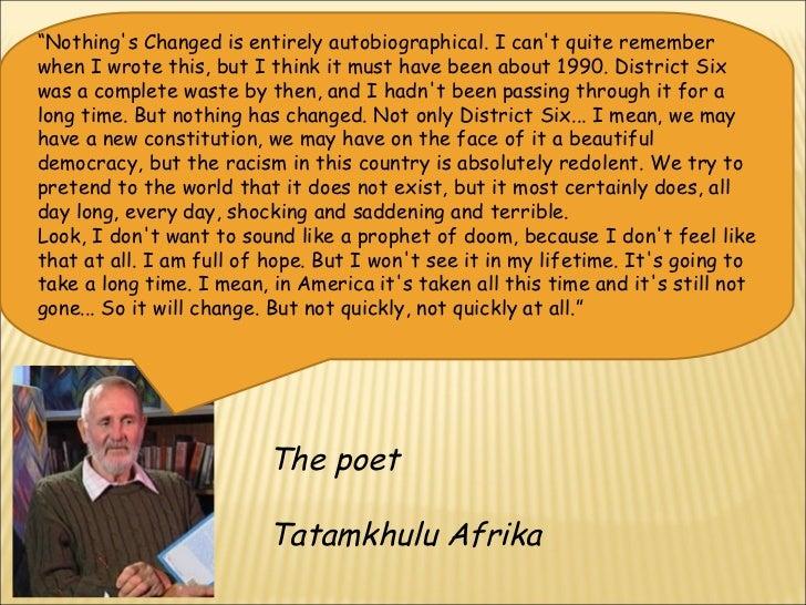 tatamkhulu afrika nothings changed