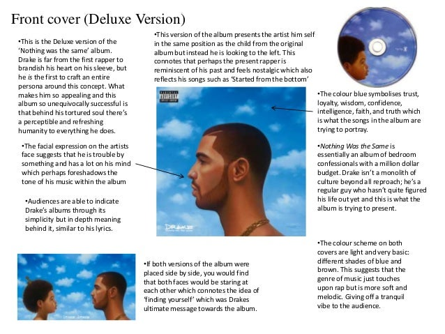 Nothing was the same album analysis