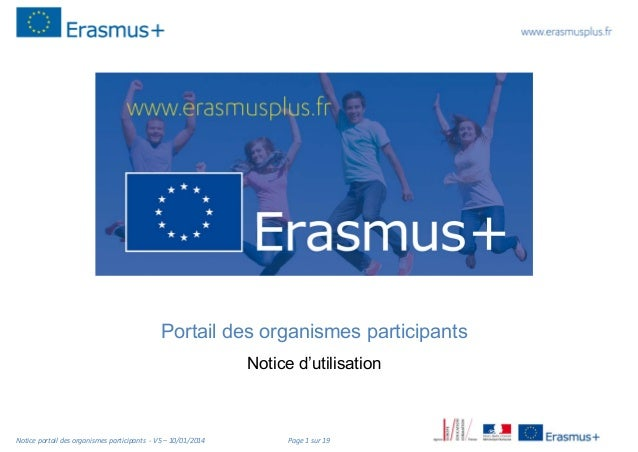 Portail des organismes participants Notice d'utilisation  Notice portail des organismes participants V5 – 10/01/2014  Page...