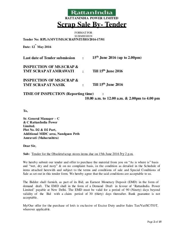 Sale Letter Format. Sample Letter Of Consent For Property Sale