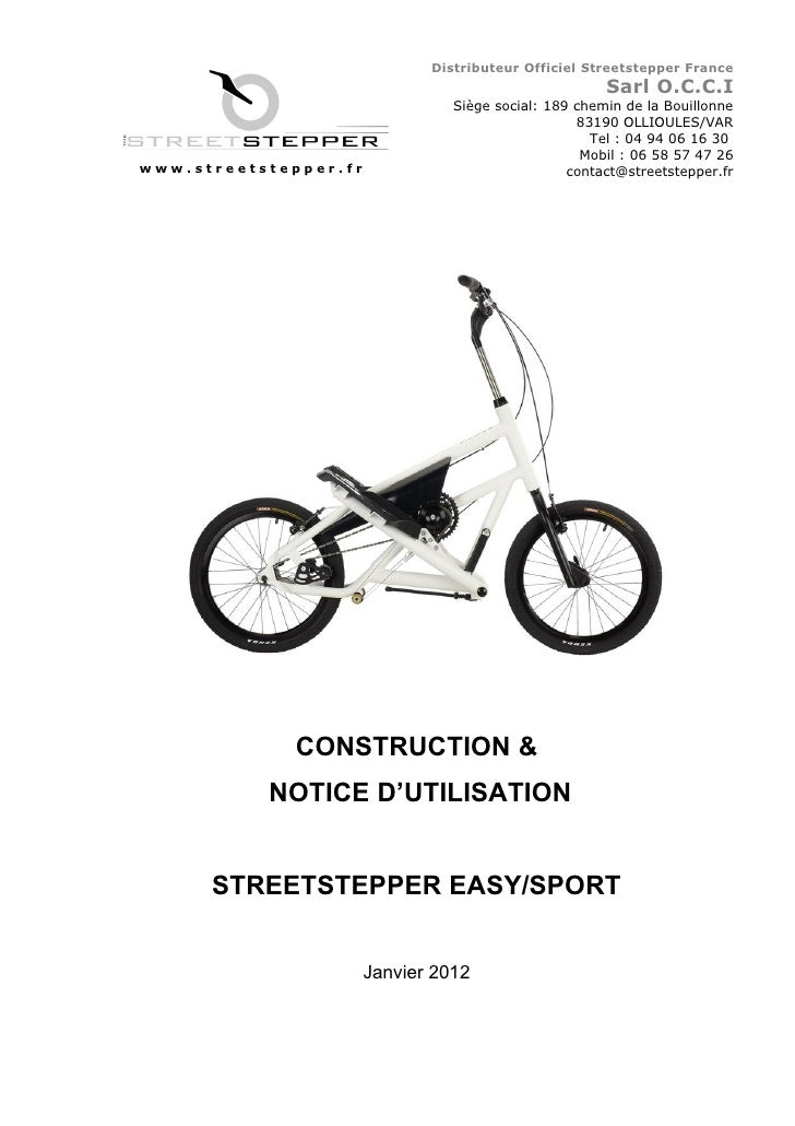 Distributeur Officiel Streetstepper France                                                       Sarl O.C.C.I             ...