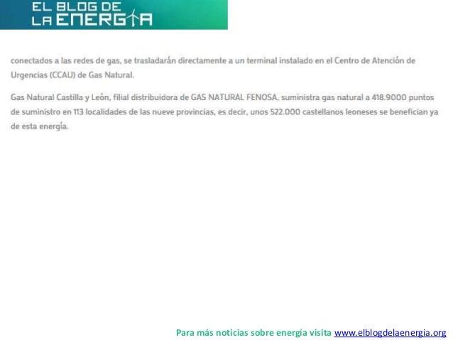 Gas Natural Castilla y León comenzará a dar servicio a través del 112