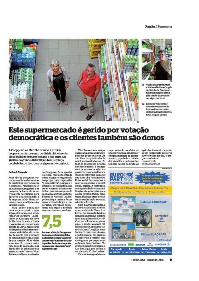 Cooperativa de Consumo COOPPOVO, Leiria (Noticia 1)