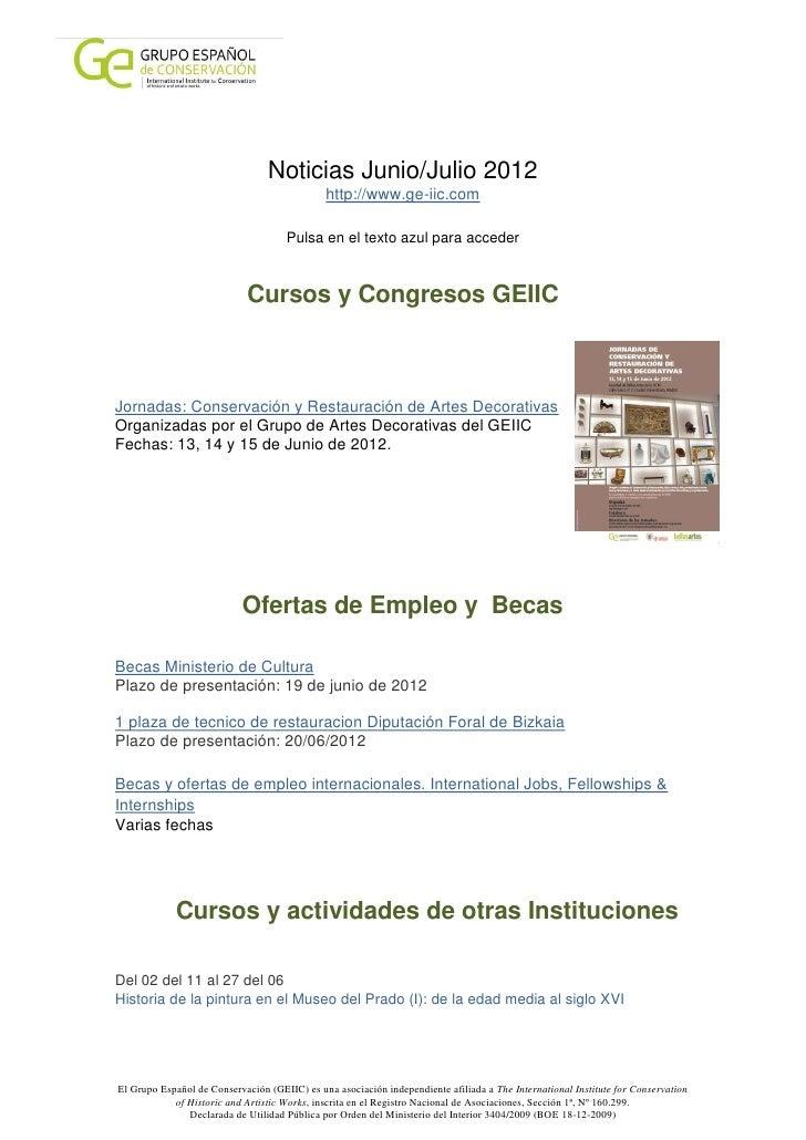 Noticias Junio/Julio 2012                                              http://www.ge-iic.com                              ...