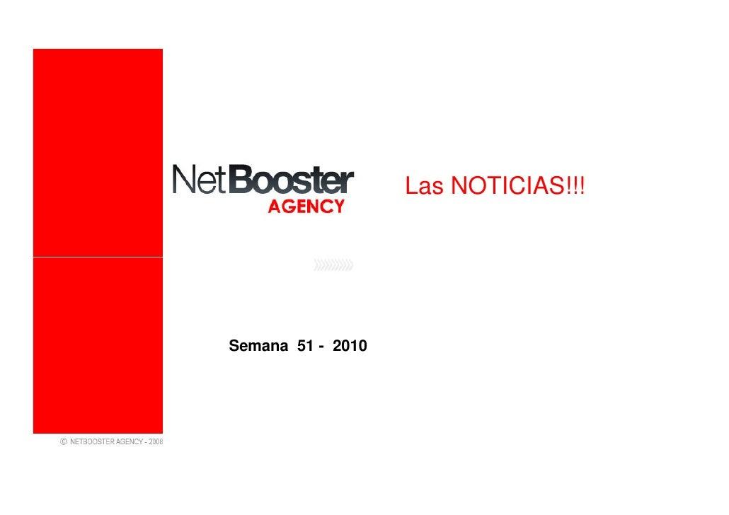 Las NOTICIAS!!!Semana 51 - 2010
