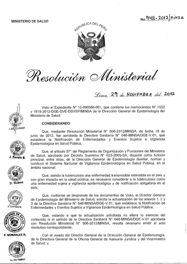 <2--(5? p.:1CA DESF, g& No 998- 2042) MINS A MINISTERIO DE SALUD F. GONZALES R. M. De Habich Y~a, 14001F1t212 f dei 2042 V...