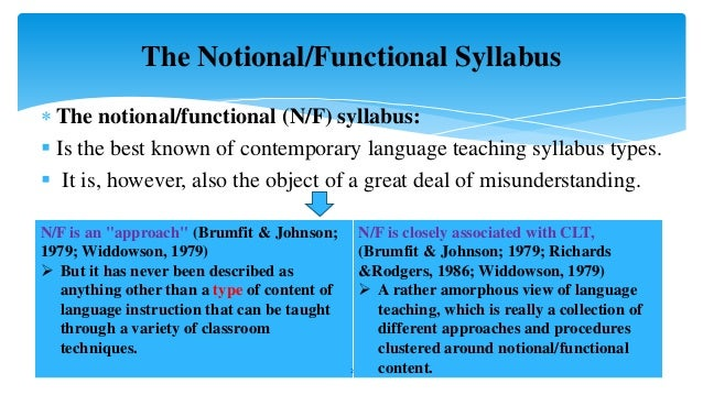 functional notional approach Functional-notional approach submitted for fulfillment of mid test by: indri anisa (06081001001) indah ramadhani dwi ningsih (06081001014) english education study program language and arts education department faculty of teacher training and education sriwijaya university april 2011.