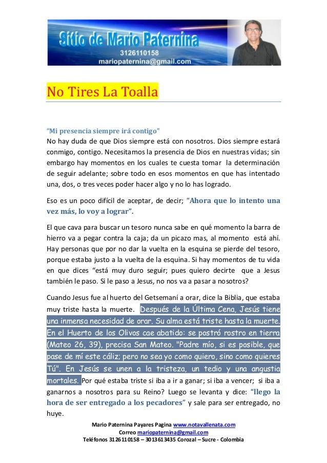 Mario Paternina Payares Pagina www.notavallenata.comCorreo mariopaternina@gmail.comTeléfonos 3126110158 – 3013613435 Coroz...