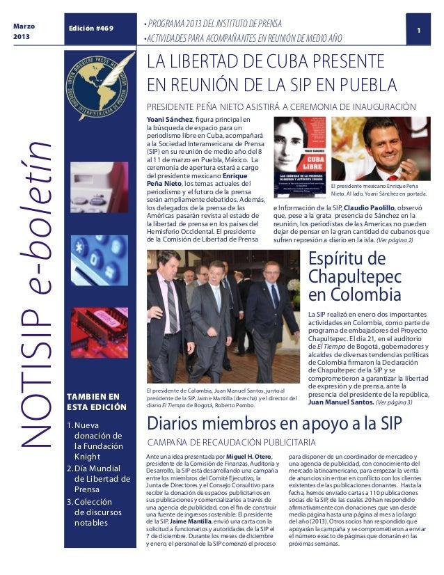 eb6993c8432a Marzo 2013 Edición  469 • PROGRAMA 2013 DEL INSTITUTO DE PRENSA  •ACTIVIDADES PARA ACOMPAÑANTES ...