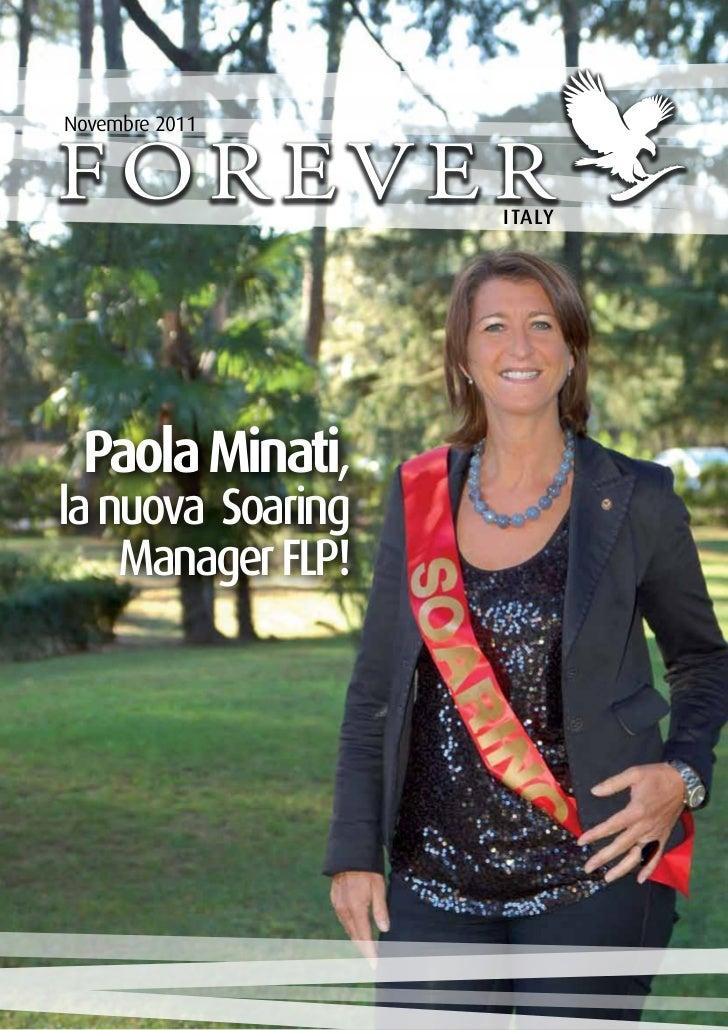 Novembre 2011                   ITALY Paola Minati,la nuova Soaring    Manager FLP!