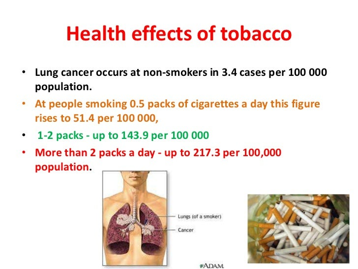 tobacco smoking and health organization estimate The researchers used prior data on smoking-related disease and deaths to  calculate the proportion of healthcare spending by each person that.