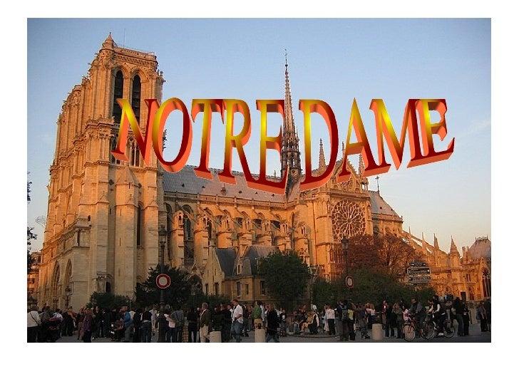 INTRODUCCIÓ Notre-Dame, la catedral de París. És una de les catedrals franceses d'estil gòtic més antigues. Dedicada a la ...