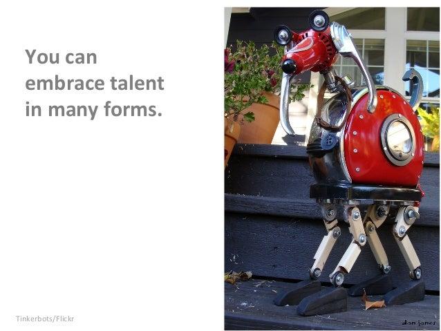 The Secret of Finding Talent Slide 18