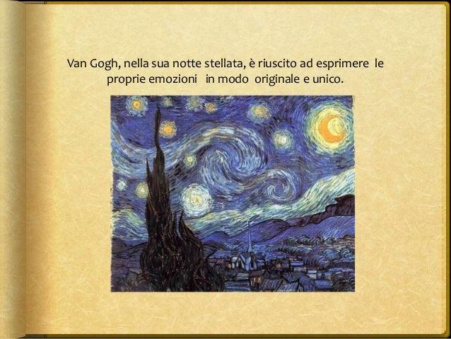 Notte stellata di v van gogh lettura dell 39 opera for La notte stellata