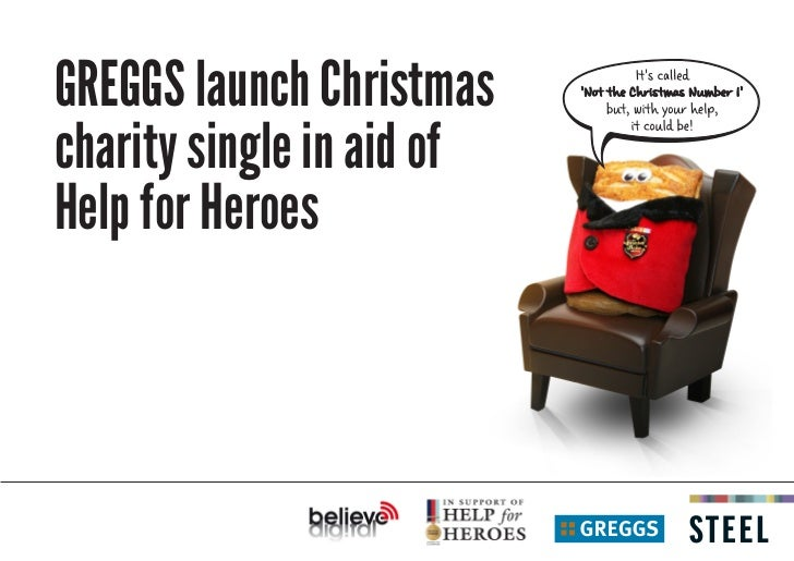 GREGGS launch Christmascharity single in aid ofHelp for Heroes