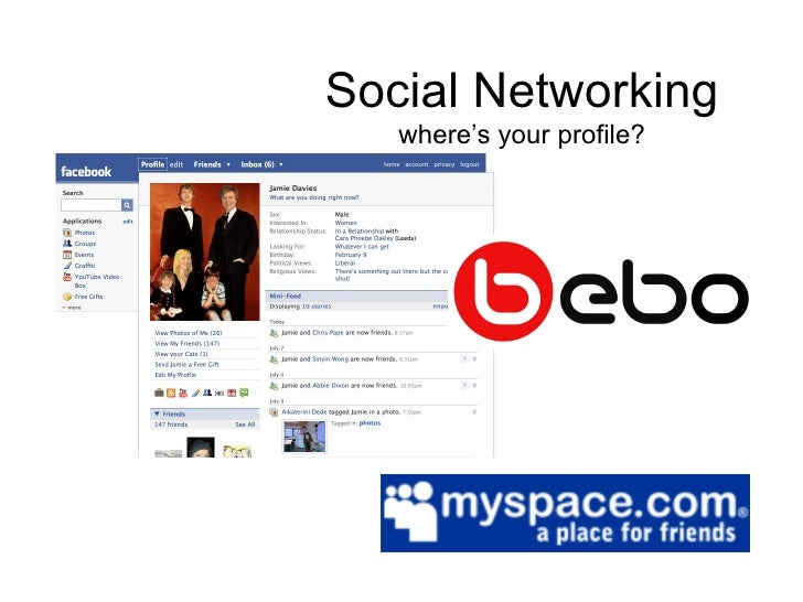 Social Networking where's your profile?