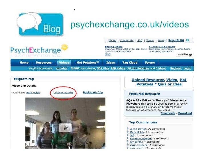 ps ychexchange.co.uk/videos