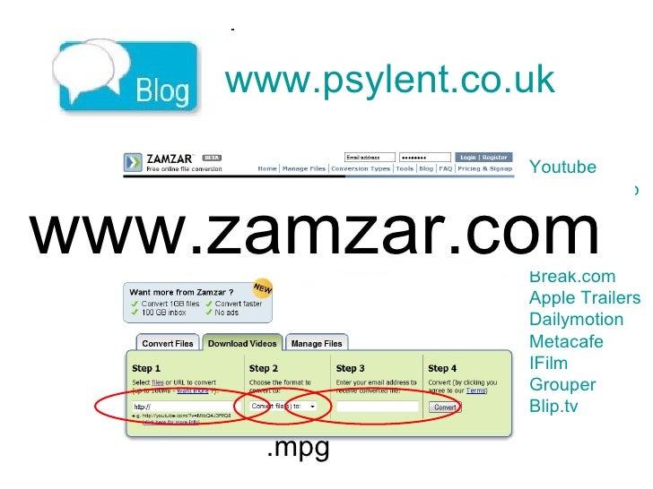 www.psylent.co.uk   Youtube   Google Video   Myspace   Revver   PutFile   Break.com   Apple Trailers   Dailymotion   Metac...
