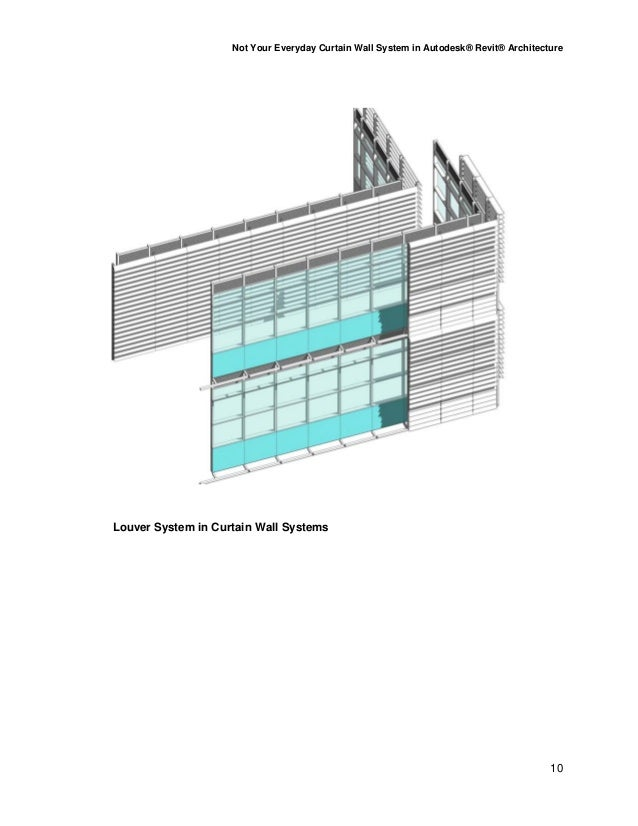 Not Your Everyday Curtain Wall System Au 2010 Ab224 7 C