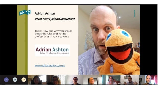#NotYourTypicalConsultant (what it takes, and how you can be more of the human you want to be in your enterprises) www.adr...