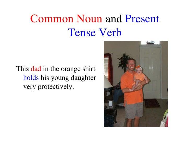 Noun and Verb Sentences Slide 2