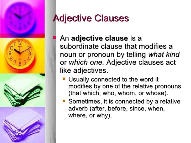 Printables Adjective Noun And Adverb Clauses Worksheet noun adjective and adverb clauses adjective