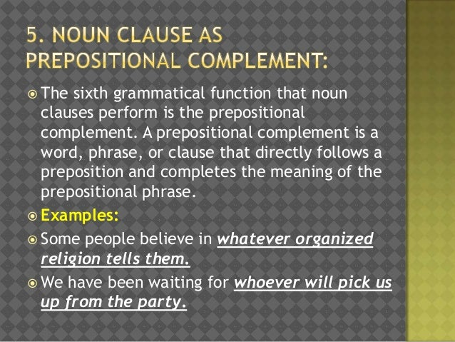 nominal clause examples
