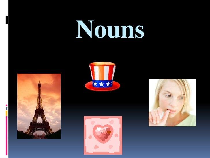 Nouns<br />