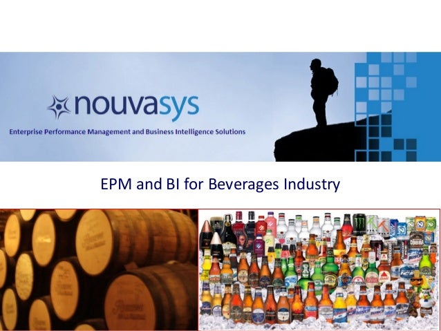EPM and BI for Beverages Industry