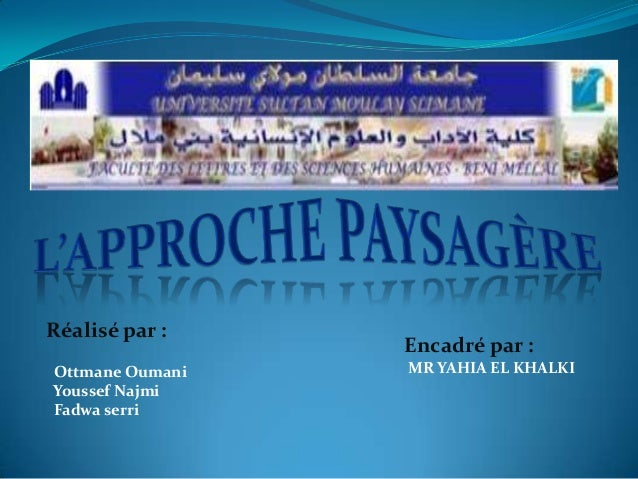 Réalisé par : Ottmane Oumani Youssef Najmi Fadwa serri Encadré par : MR YAHIA EL KHALKI