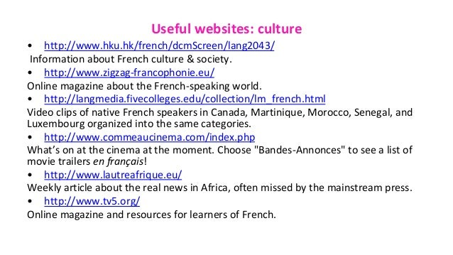 French essay publicite