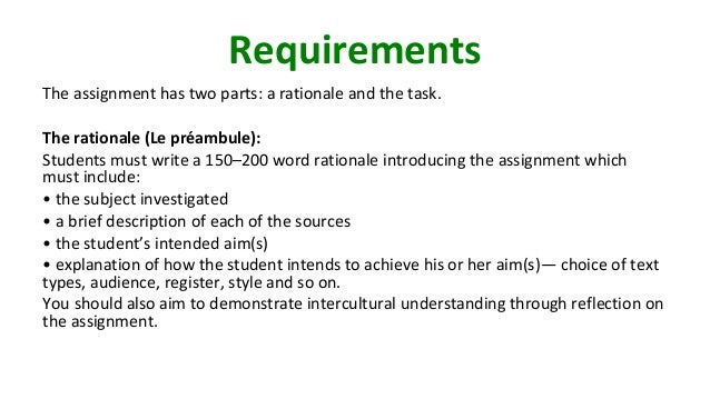ib english written task The task: students produce a piece of creative writing that may be chosen from the recommended text types listed for paper 2 (see below) it will be based on a work of literature that the.
