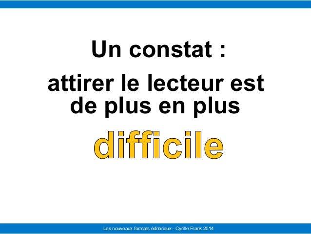Le Télégramme Les nouvelles facettes du journalisme IFRA - 2008-2009Les nouveaux formats éditoriaux - Cyrille Frank 2014 U...