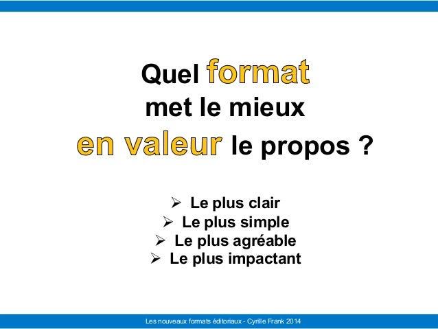 Le Télégramme Les nouvelles facettes du journalisme IFRA - 2008-2009Les nouveaux formats éditoriaux - Cyrille Frank 2014 Q...