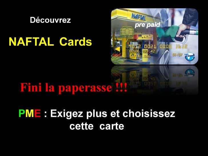 New cards Prepaid  NAFTAL  2010