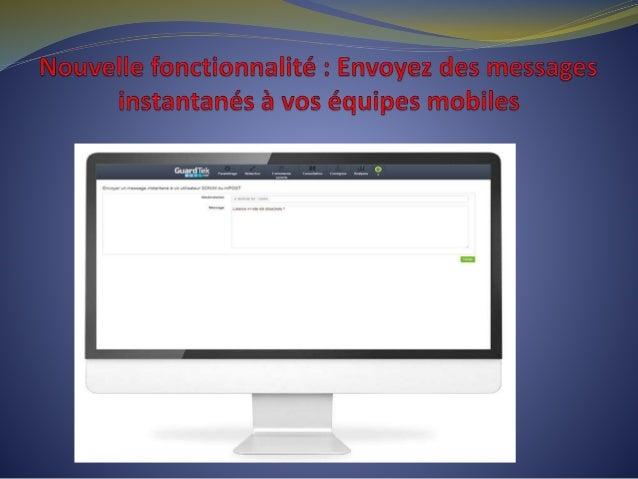 Vous devez l'envoyer maintenant ? Rien de plus simple! Connectez-vous sur GuardTek.net et découvrez le nouveau module de m...
