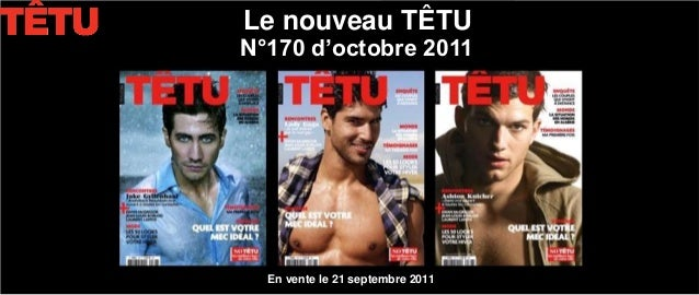 Le nouveau TÊTUN°170 d'octobre 2011  En vente le 21 septembre 2011