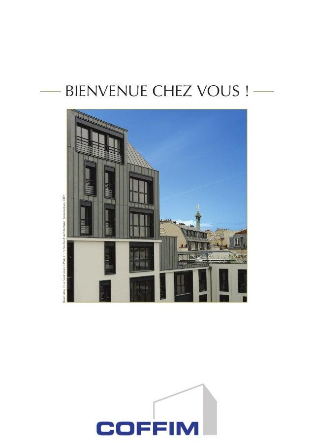 BIENVENUE CHEZ VOUS ! RésidenceCourSaintLouisàParis(11e ).Studiod'architecture:Jean-JacquesORY.