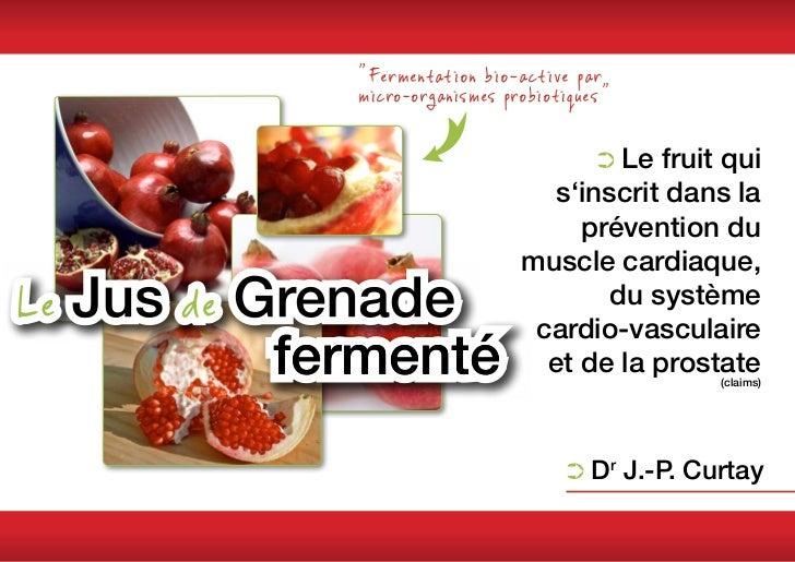 """""""Fermentation bio-active parmicro-organismes probiotiques""""                             ➲➲Le                             ..."""